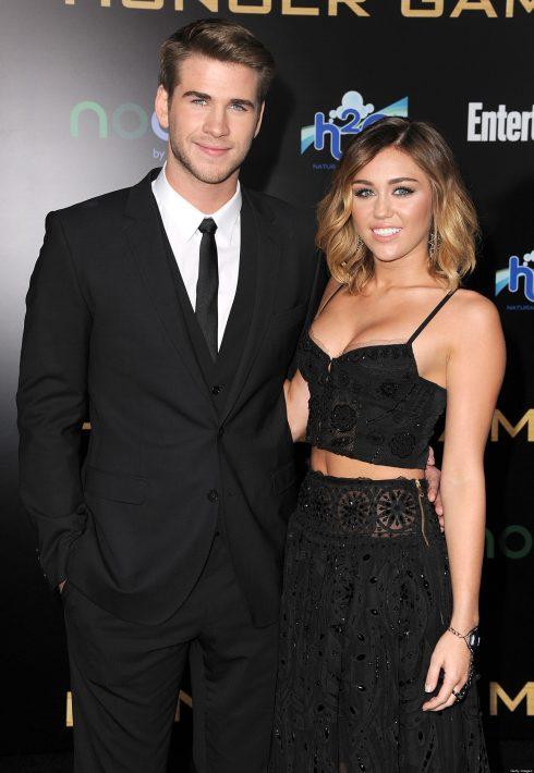 Hình ảnh Miley Cyrus bên Liam