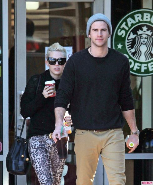 Hình ảnh Miley Cyrus và Liam