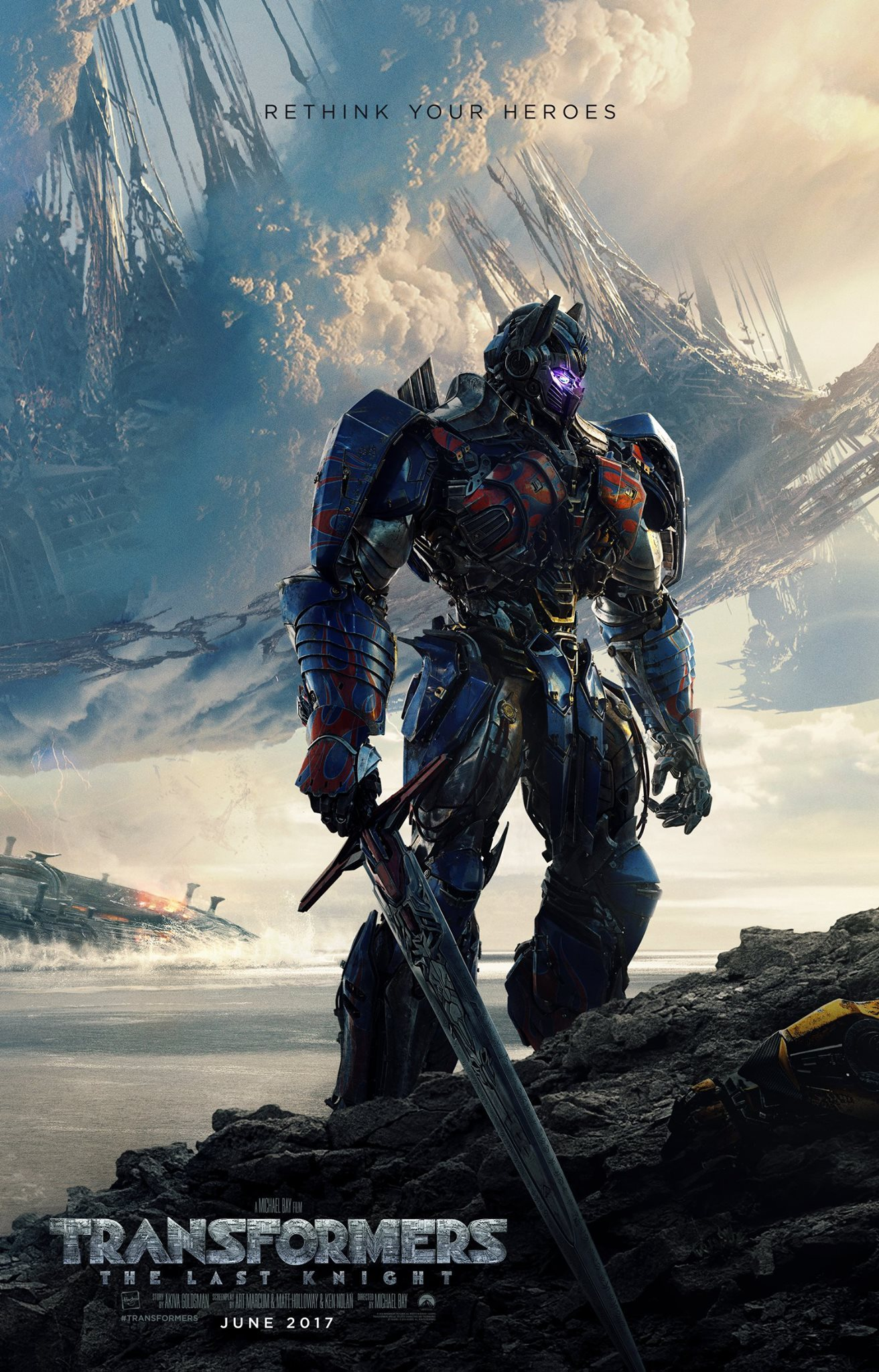 phim chiếu rạp Paramount - Transformers The Last Knight - elle vietnam