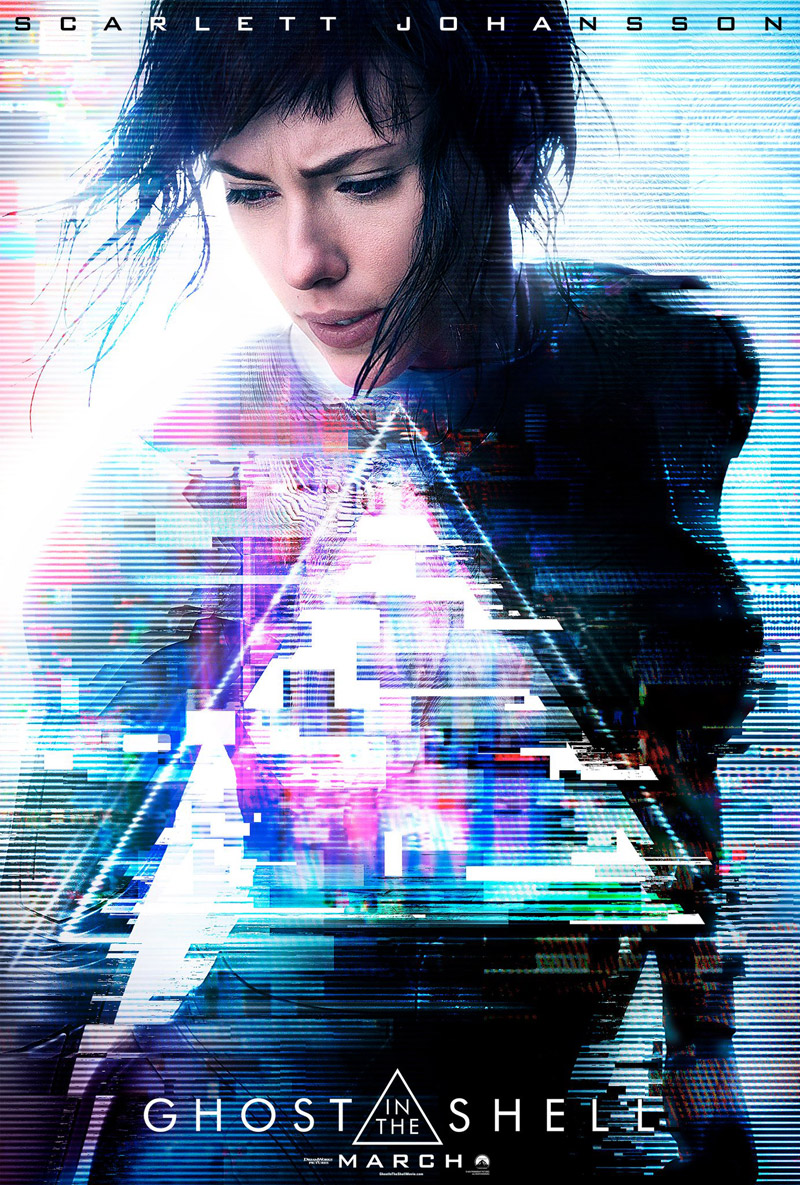 phim chiếu rạp Paramount - ghost in the shell - elle vietnam