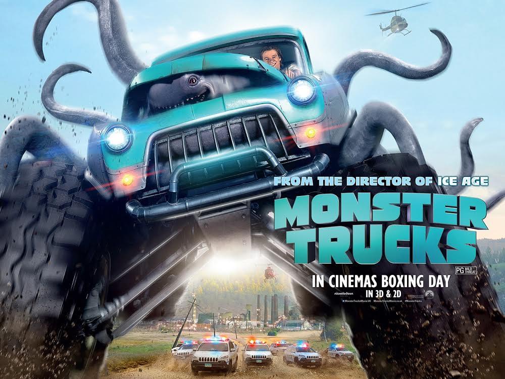 phim chiếu rạp Paramount - monster truck - elle vietnam