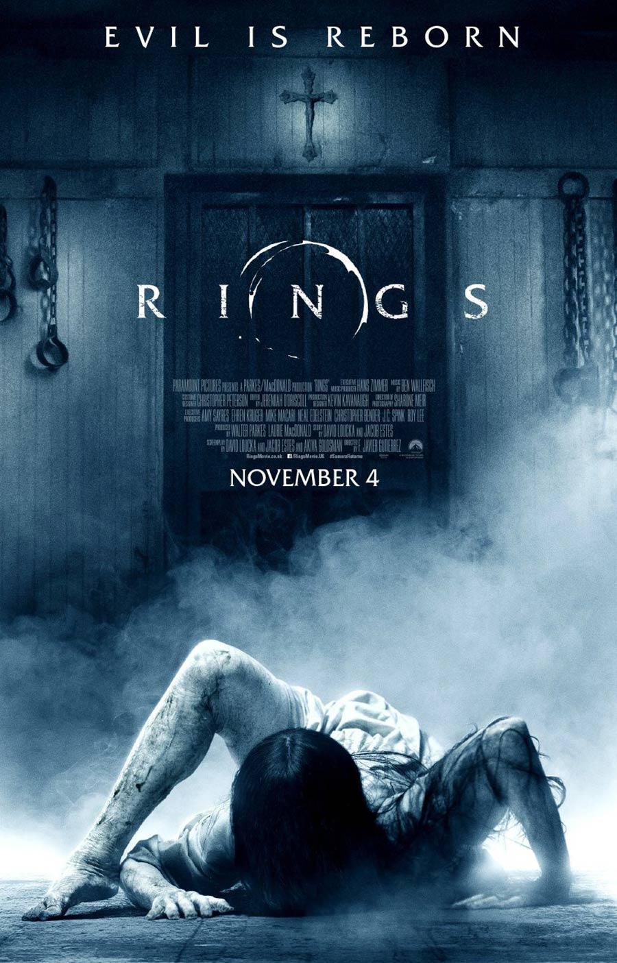 phim chiếu rạp Paramount - rings - elle vietnam