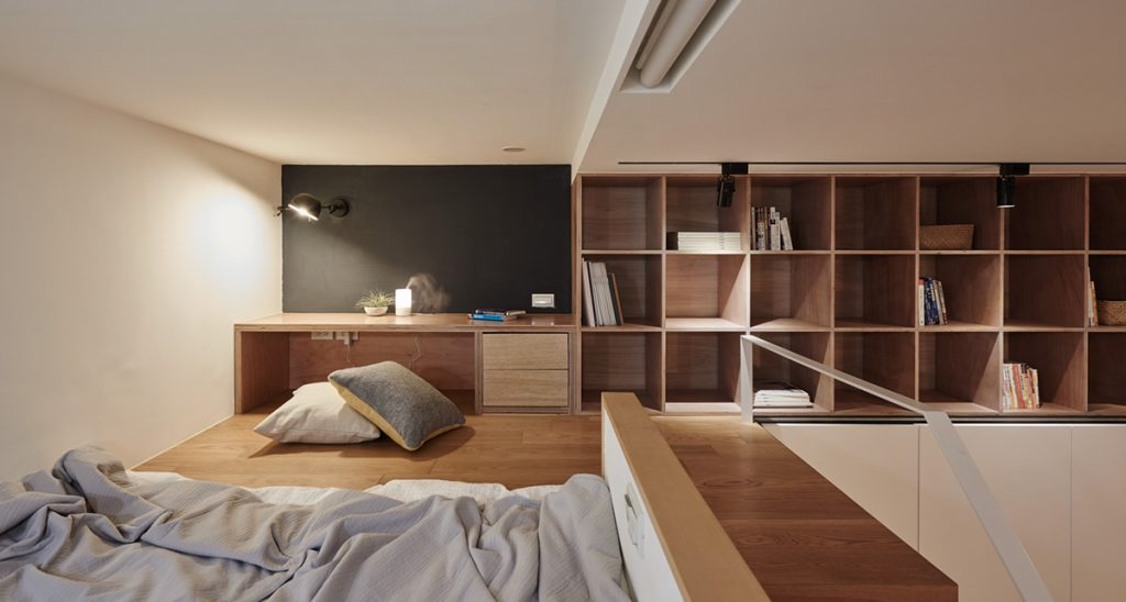 8tiny-apartment-with-loft-office-and-bedroom