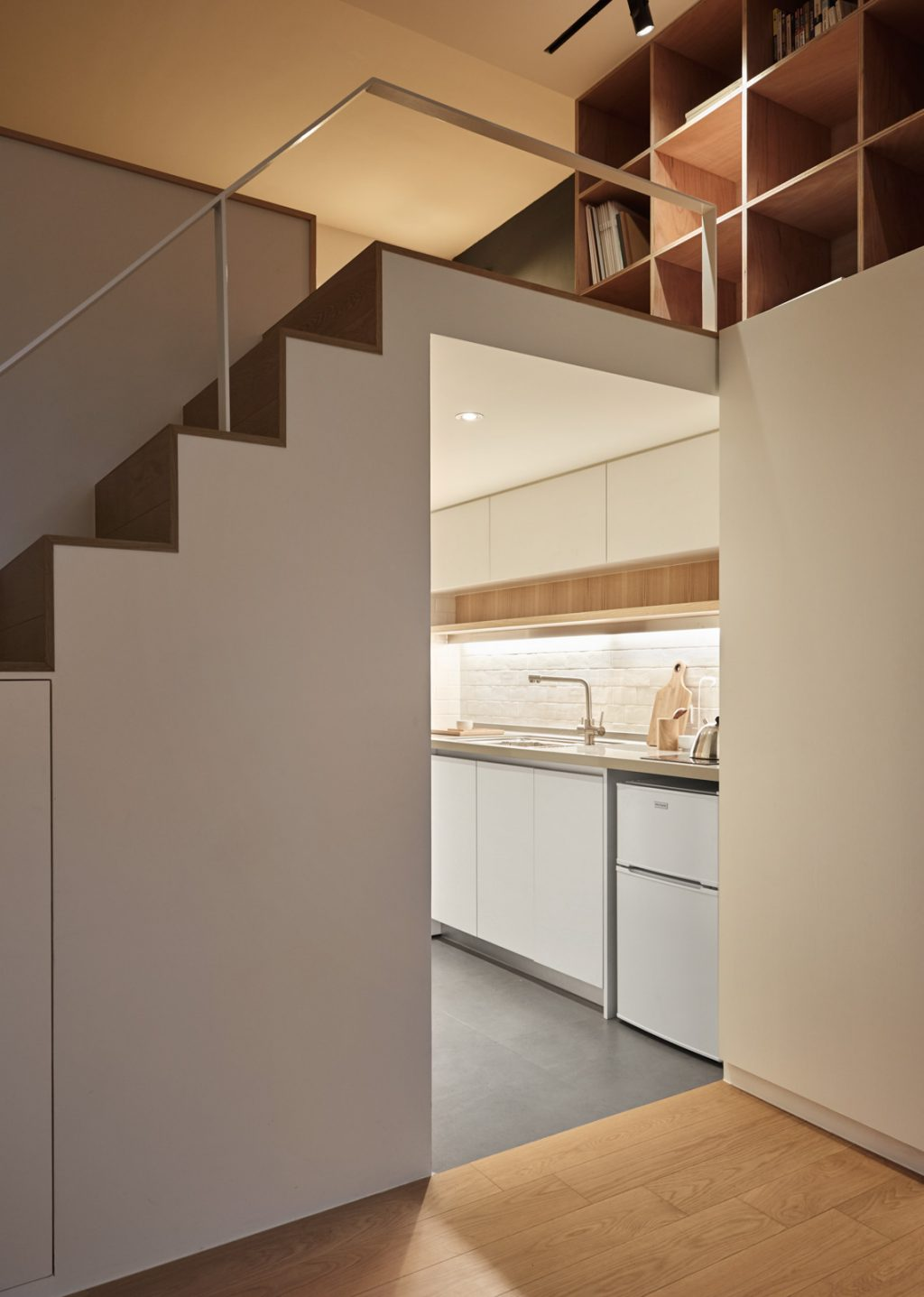 9.kitchen-beneath-lofted-bedroom