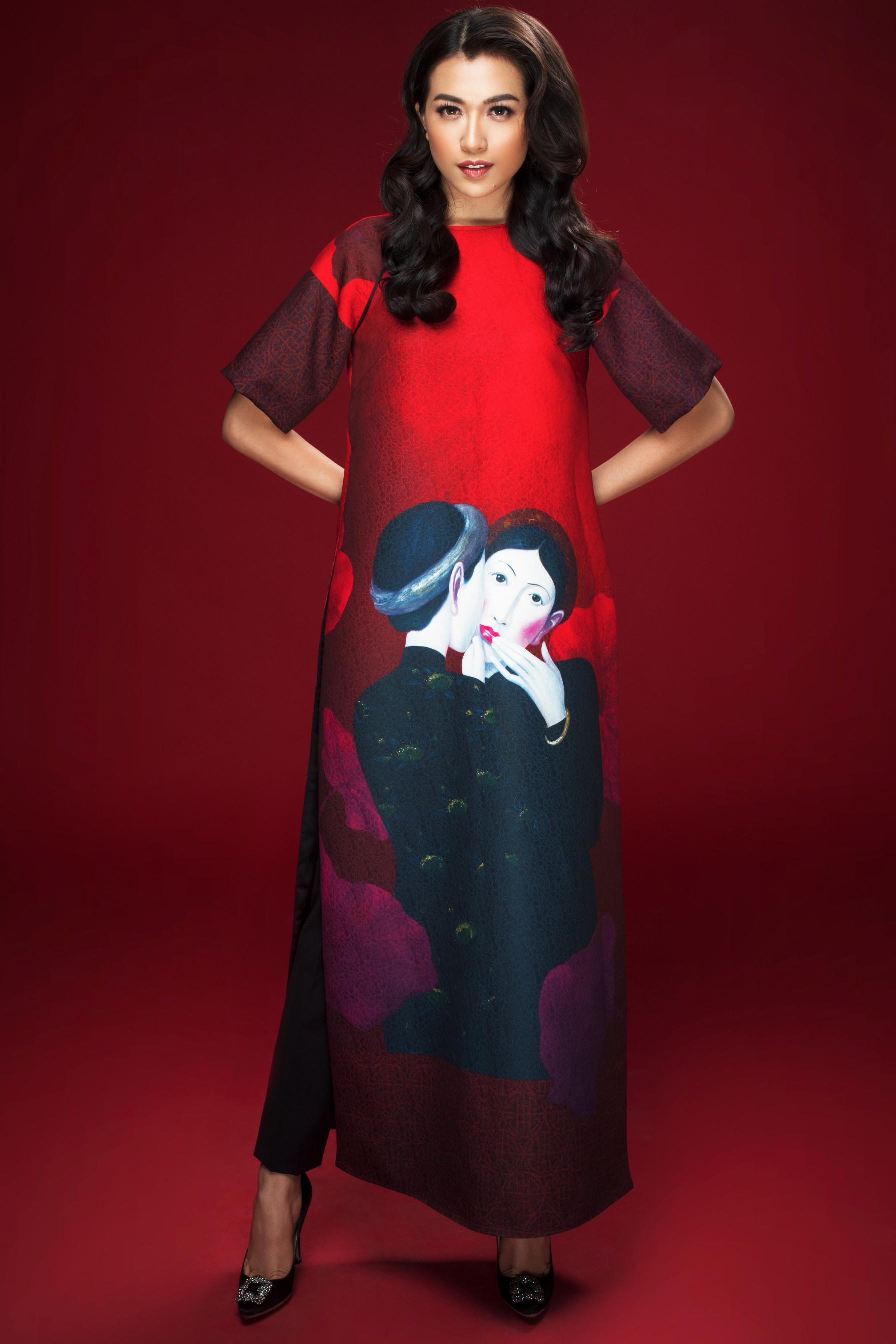 Lệ Hằng Miss Universe - elle vietnam 1