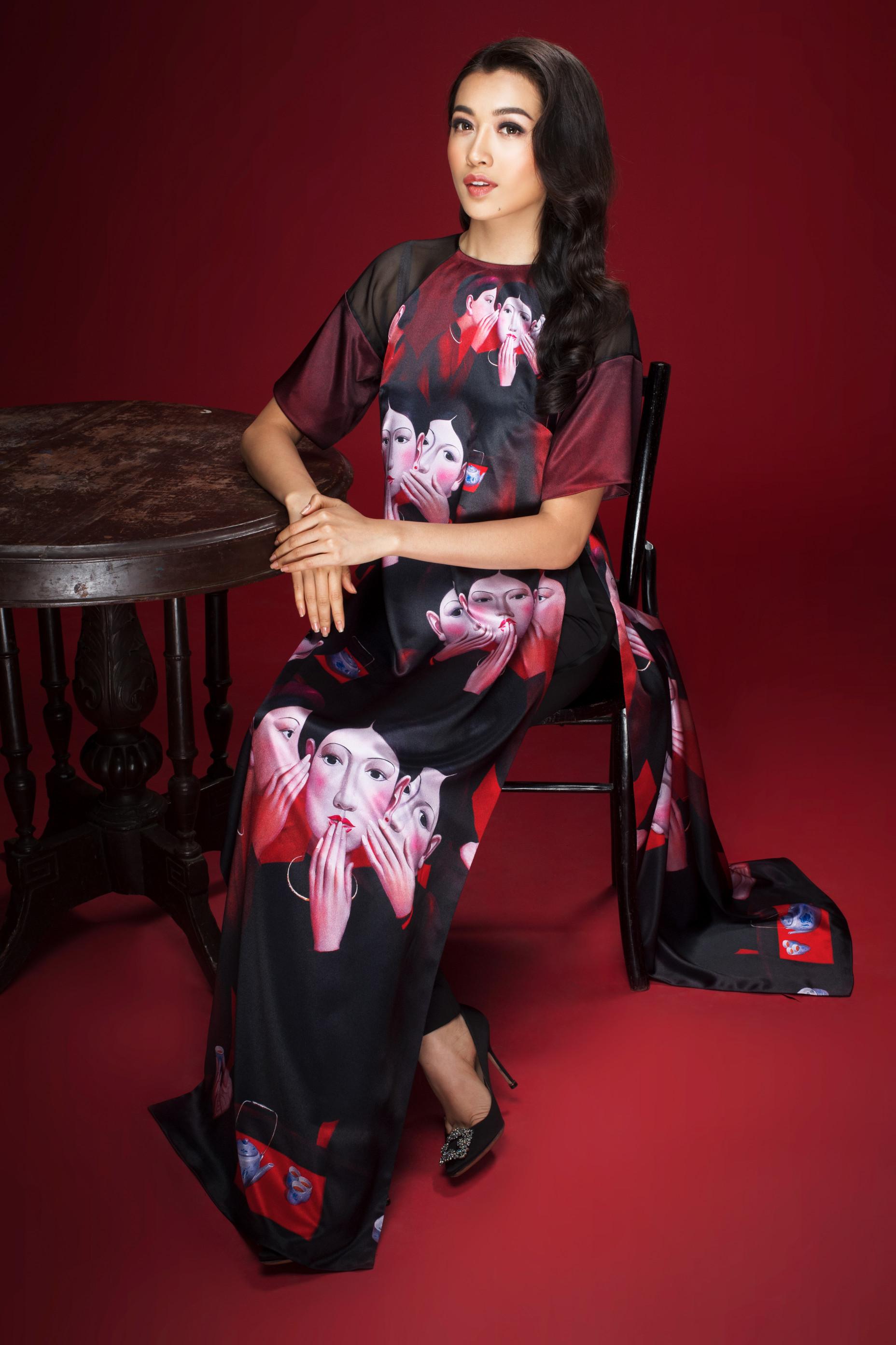Lệ Hằng Miss Universe - elle vietnam 5