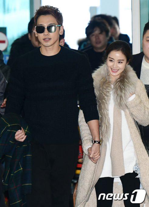 Phong cách thời trang của cặp đôi mới cưới Rain và Kim Tae Hee - 10