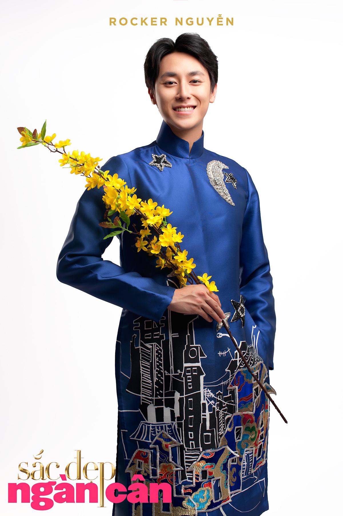 Rocker Nguyễn - Sắc đẹp ngàn cân - elle viet nam