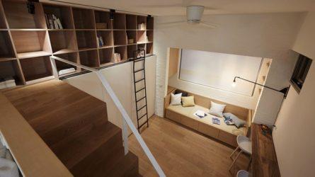 Học cách bài trí của căn hộ thông minh có diện tích dưới 40 mét vuông