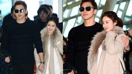 Phong cách thời trang của cặp đôi mới cưới Bi Rain & Kim Tae Hee
