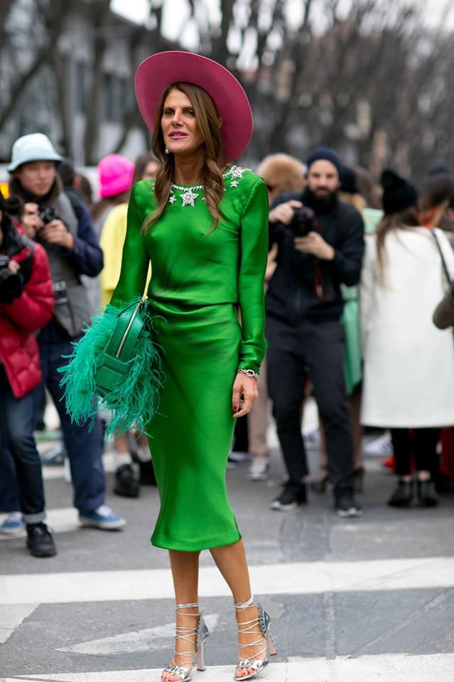 Xanh hóa thời trang với xu hướng màu sắc 2017