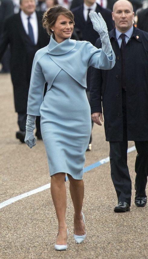 Đệ nhất Phu nhân Melania Trump trong Lễ nhậm chức - 02