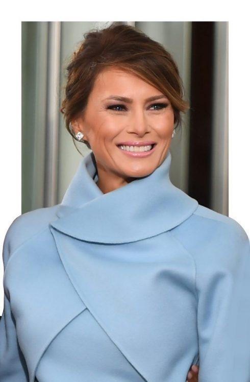 Đệ nhất Phu nhân Melania Trump trong Lễ nhậm chức - 01