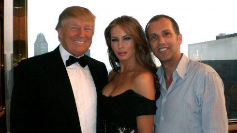 Mordechai Alvow và Đệ nhất Phu nhân Melania Trump - 01