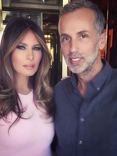 Mordechai Alvow và Đệ nhất Phu nhân Melania Trump - 04