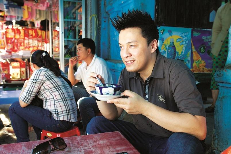 quán ăn ưa thích của sao Việt - Lam Trường - elle vietnam
