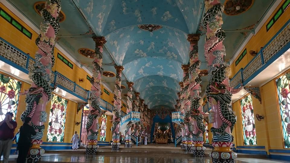 địa điểm hành hương miền Nam - tòa thánh Tây Ninh - elle vietnam