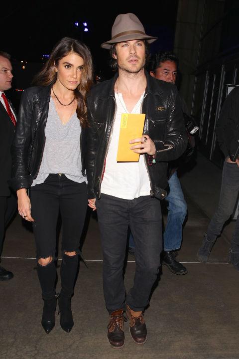 Nikki Reed, ngôi sao của Twilight chứng minh rằng trang phục đơn giản, cá tính cũng làm nên phong cách tuyệt vời cho một buổi tối hẹn hò