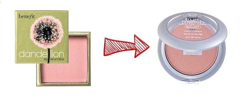 5 bản dupe phấn má hồng khiến bạn phát cuồng ELLE VN