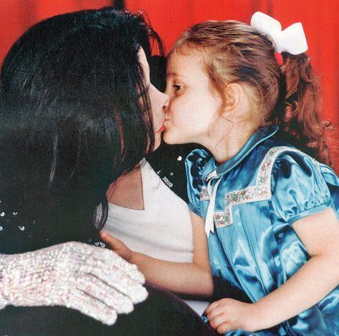 Michael Jackson và Paris Jackson