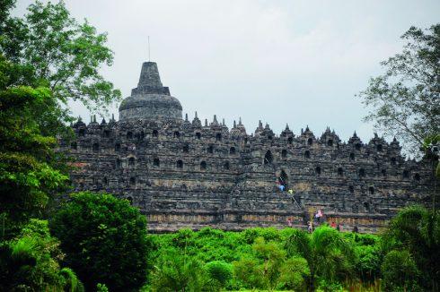Đền Borobudur Ngọn đồi sen khổng lồ ở Indonesia 2