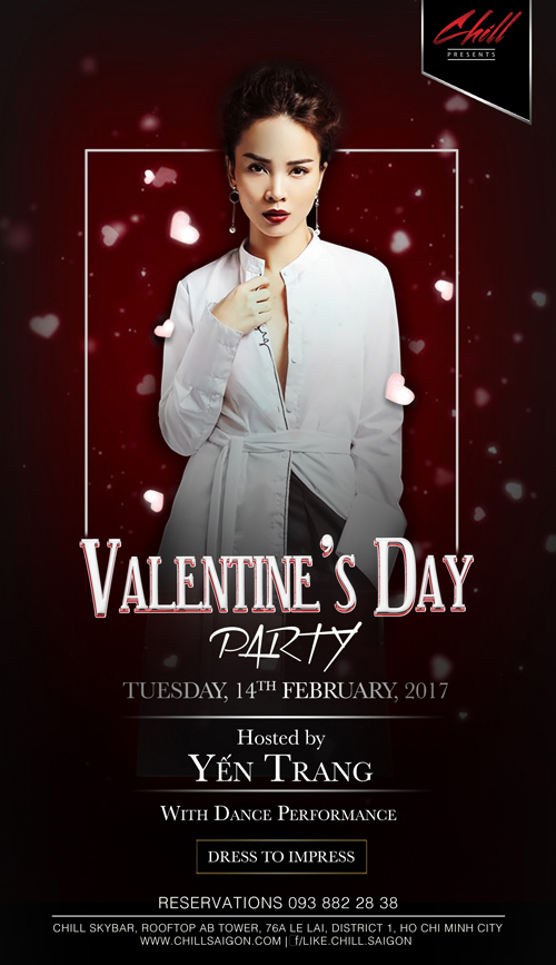 Chill Skybar - Valentine Party - elle vietnam 1