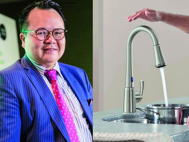 Chủ tịch Kohler Larry Yuen - Thẩm mỹ thiết kế gắn bó với môi trường