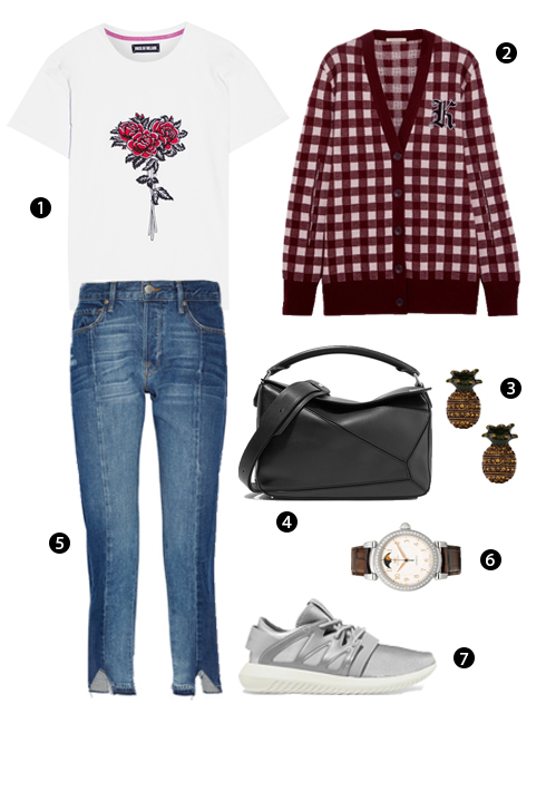 1. House of Holland, 2. Christopher Kane, 3. Marc Jacobs, 4. Loewe, 5. Frame, 6. Iwc Schaffhausen, 7. Adidas Originals.