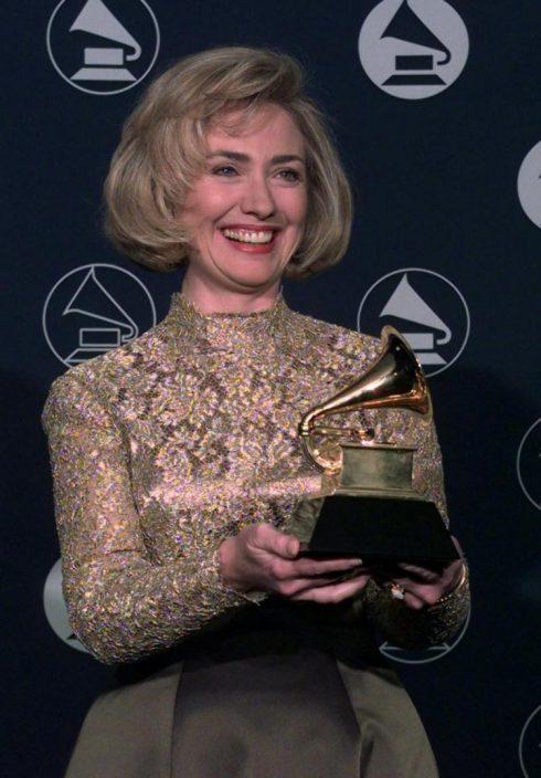 Hillary Clinton thắng giải Grammy
