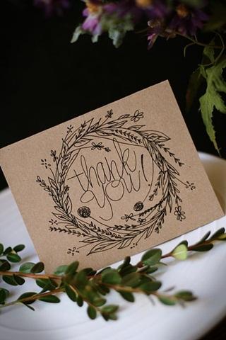 Cách viết một tấm thiệp cảm ơn hoàn hảo