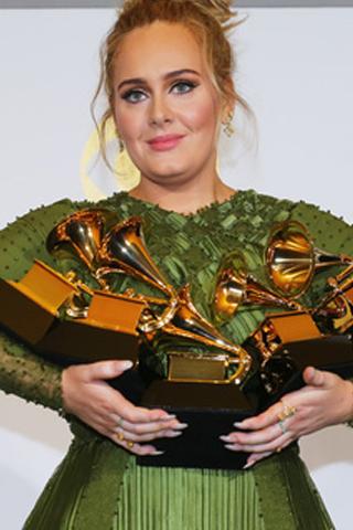Kết quả lễ trao giải Grammy lần thứ 59: mùa giải bội thu Adele