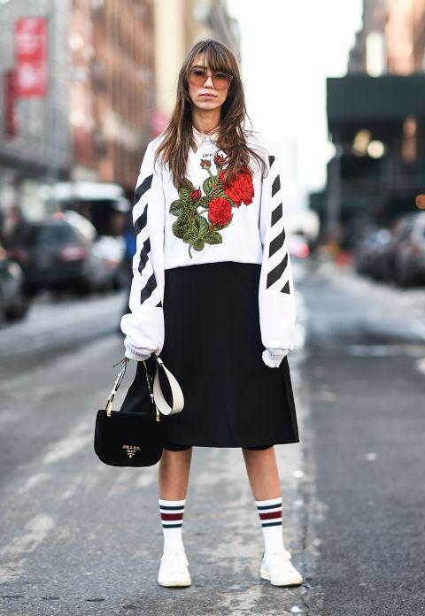 chStreet style New York Fashion Week 2017 có gì đặc biệt? - ELLE VNchriselle limriselle lim