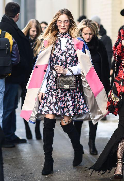 chriselStreet style New York Fashion Week 2017 có gì đặc biệt? - ELLE VN