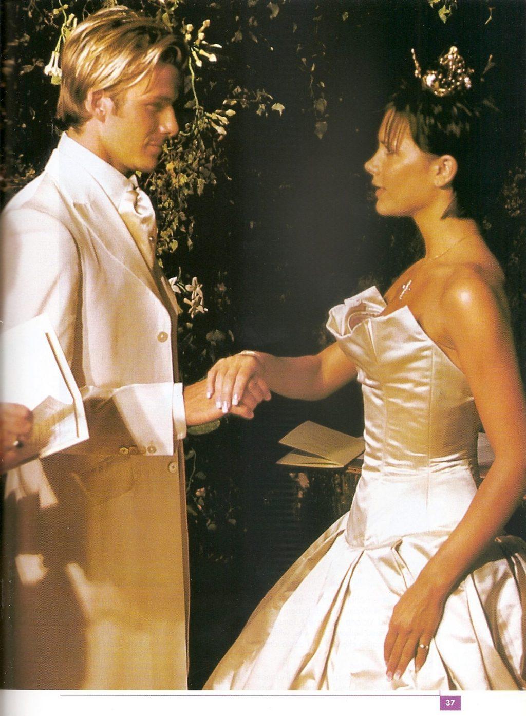 Cặp đôi của làng giải trí Victoria và David Beckham