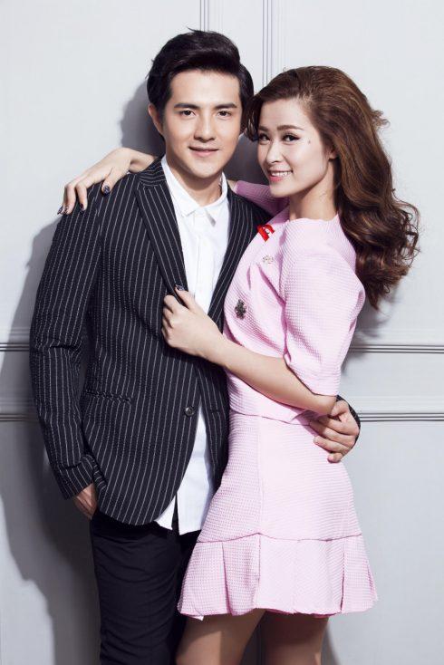 Cặp đôi của làng giải trí Đông Nhi và Ông Cao Thắng.