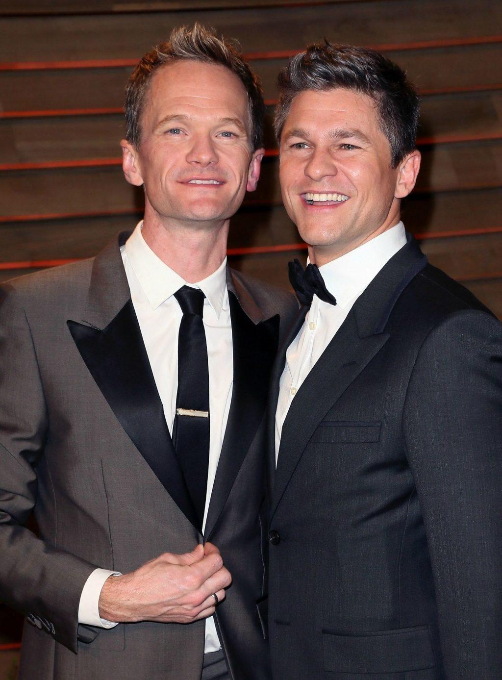 Cặp đôi của làng giải trí Neil Patrick Harris và David Burtka.