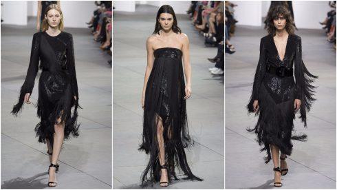 Những chiếc váy tua rua khép lại BST