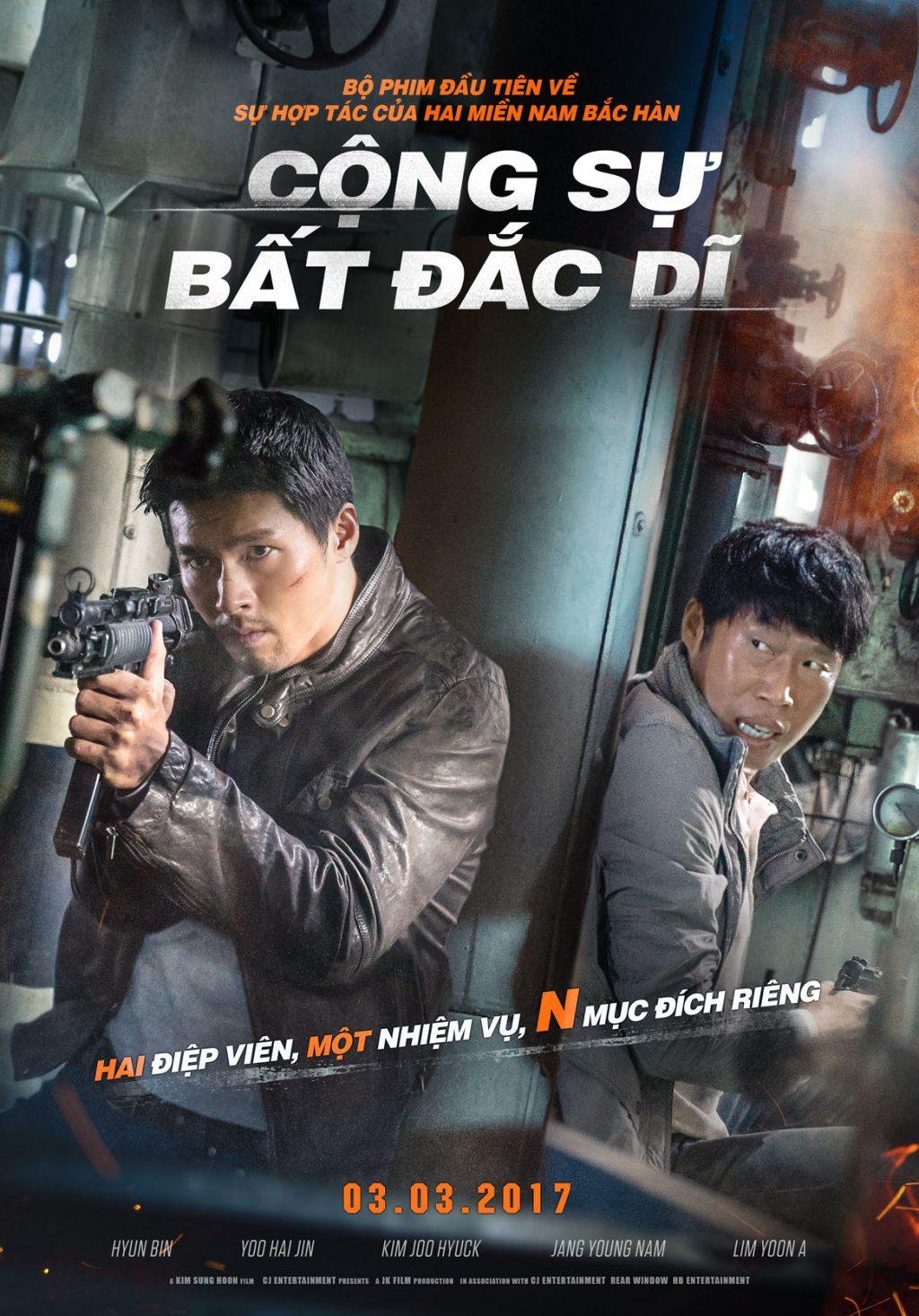 CONG SU BAT DAC DI - teaser poster