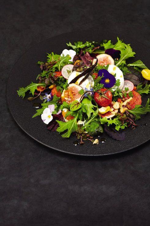 thực đơn mới bao gồm các món ăn được hợp cùng hương thơm của vanilla.