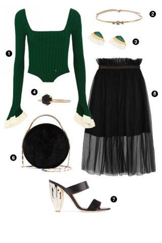 ELLE Style Calendar: Ngọt ngào với váy tulle (20/02 – 26/02)