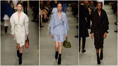 Những chiếc áo khoác mới mẻ của Burberry