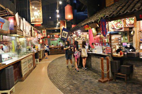Foodcourt tại Vivo City Singapore