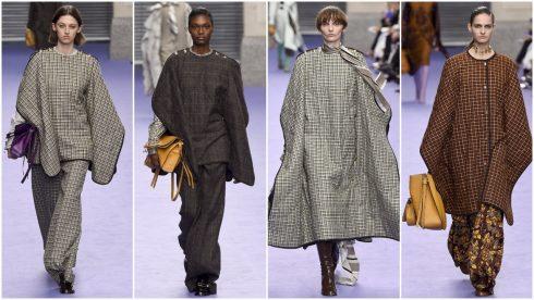 Những chiếc áo poncho trần bông