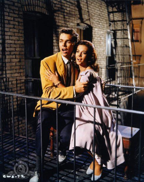 Phim âm nhạc đoạt giải Oscar - West Side Story.