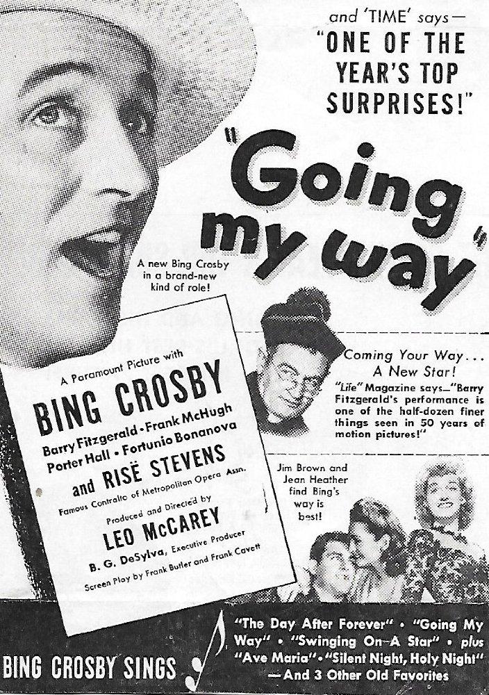 Phim âm nhạc đoạt giải Oscar - Going My Way