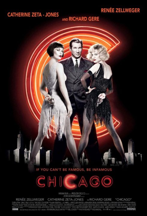 Phim âm nhạc đoạt giải Oscar - Chicago