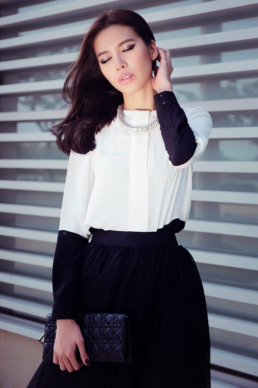 Thời trang xuống phố đầy năng động của người mẫu Minh Tú