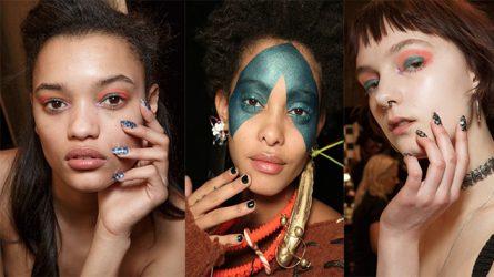 10 mẫu sơn móng tay đẹp nhất tại London Fashion Week 2017