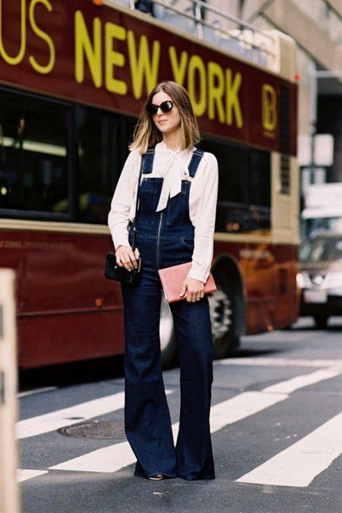 ELLE Style Calendar: Cá tính với quần yếm jeans 32655