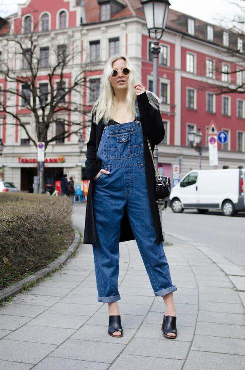 ELLE Style Calendar: Cá tính với quần yếm jeans 321